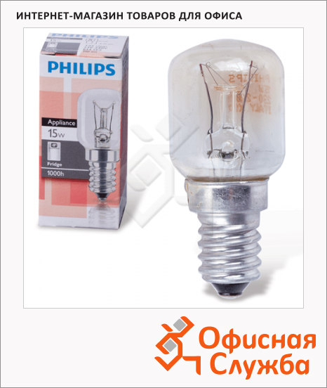 Лампа накаливания Philips T25CL, E14