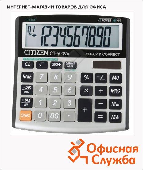 фото: Калькулятор настольный Citizen CT-500 VII серый 10 разрядов