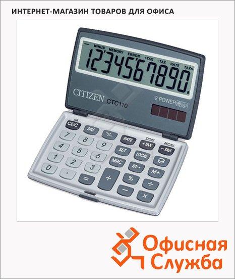Калькулятор карманный Citizen CTC110, 10 разрядов