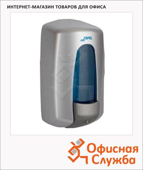 Диспенсер для мыла наливной Jofel Aitana АС72000, металлик, 1л
