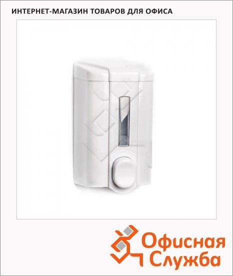 Диспенсер для мыла наливной Vialli S2, белый, 0.5л