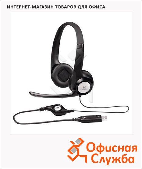 Гарнитура проводная Logitech H390