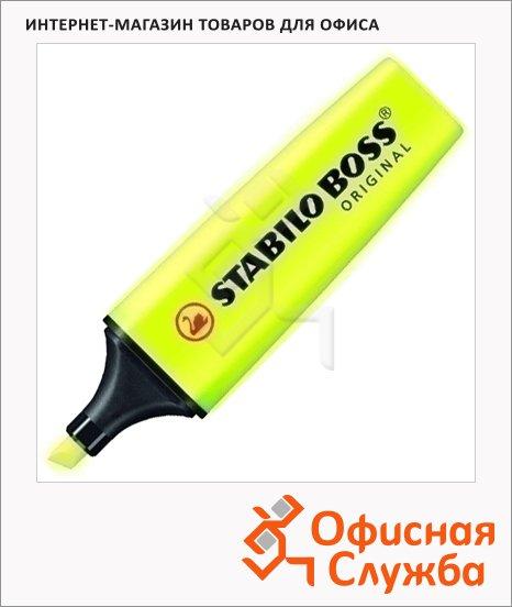 Текстовыделитель Stabilo Boss Original, 2-5мм, скошенный наконечник