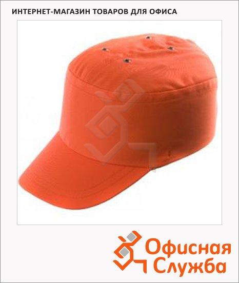 Защитная каскетка Ампаро Престиж оранжевая