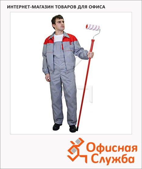 Костюм рабочий летний Рейнир, серо-красный