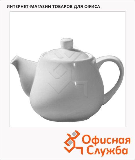 Чайник заварочный Wilmax, белый, фарфор