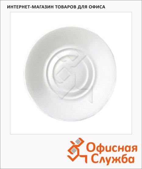 Тарелка десертная Wilmax белая, d=14см