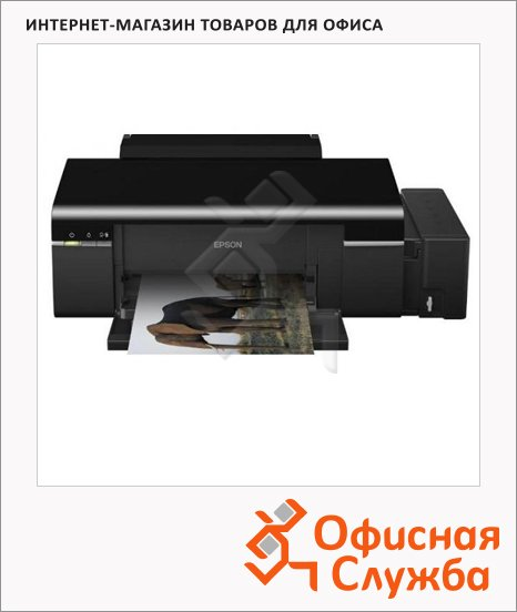 фото: Принтер струйный L800 А4, 37 стр/мин, 64 Мб