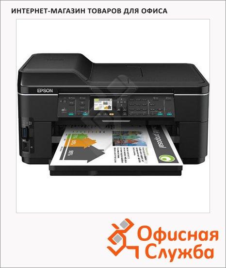 фото: МФУ лазерное WorkForce WF-7515 А3, 34 стр/мин, 64 Мб