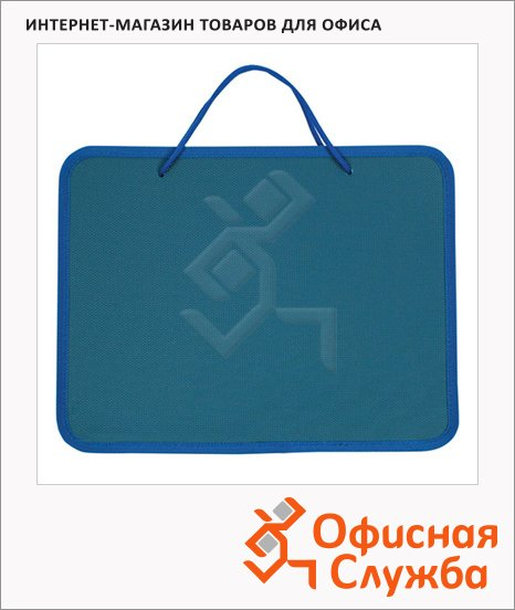 Папка-портфель 270х350х42мм, пластик