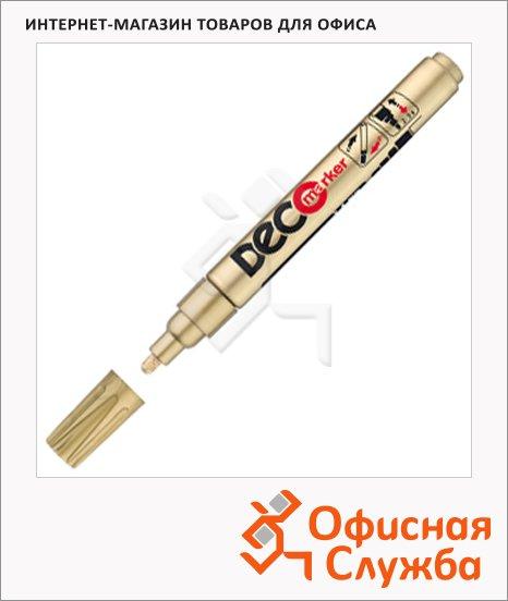 Маркер лаковый Ico Deco, 2-4мм, круглый наконечник