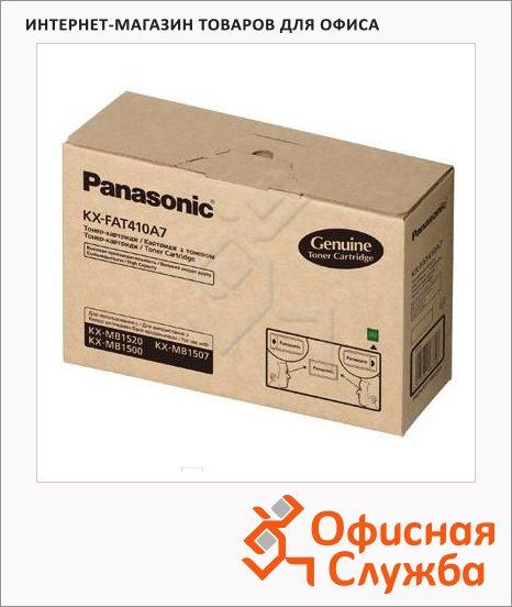 фото: Тонер-картридж Panasonic KX-FAT410A7 черный, 2500стр