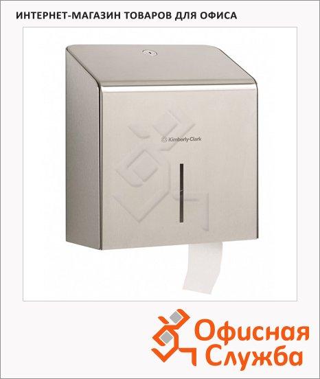 фото: Диспенсер для туалетной бумаги в рулонах Kimberly-Clark Metal 8974 металлик
