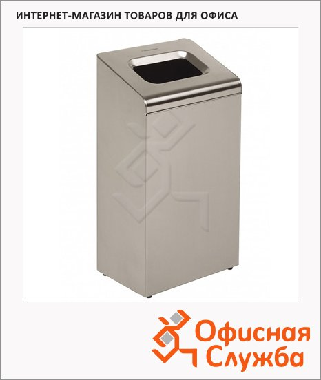 Контейнер для мусора Kimberly-Clark Metal 8975, 80л, металлик