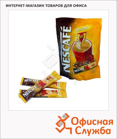 Кофе порционный Nescafe Мягкий 3в1, растворимый, пакет