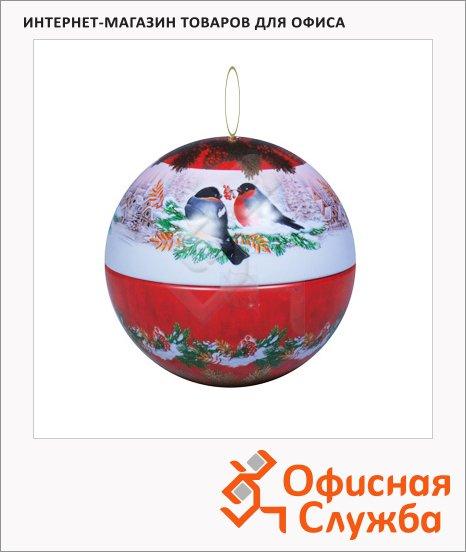 Чай Hilltop Шар Морозный рассвет, черный, листовой, 100 г, ж/б