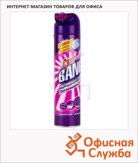 Чистящее средство Cillit Bang 0.6л, для ванной и душа, активная пена, аэрозоль