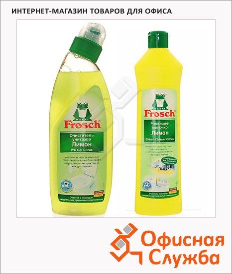 Чистящее средство для унитаза Frosch, лимон