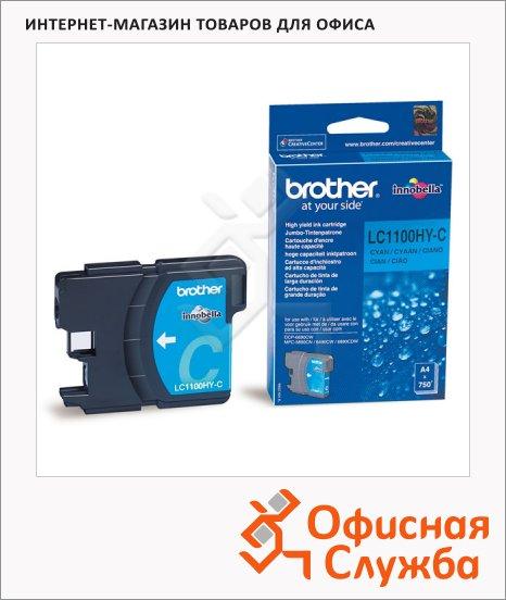 Картридж струйный Brother LC1100HBK/HYY/HYM/HYC/BK/Y/M/C