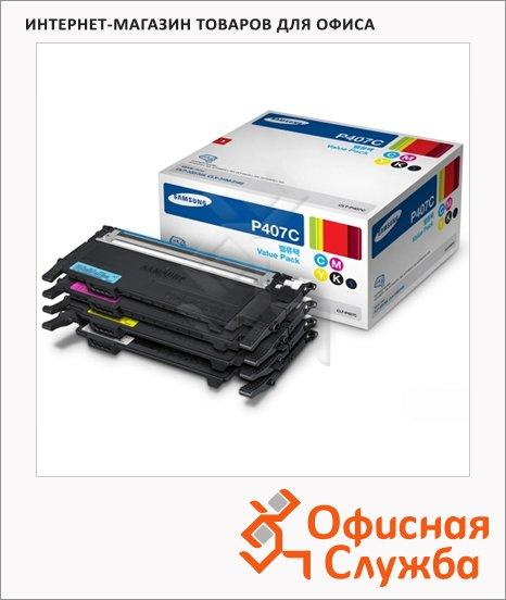 �����-�������� Samsung CLT-P407C, 4 �����