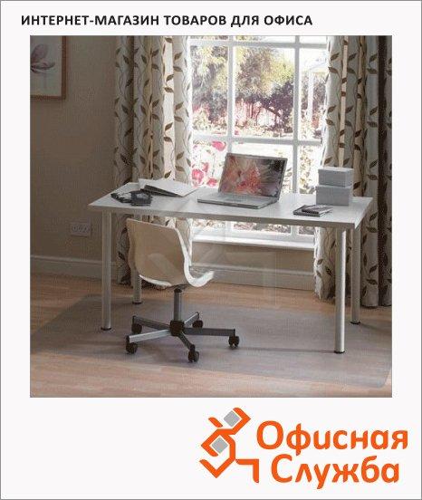 Коврик под кресло Floortex прямоугольный, 1,7мм, для гладкой поверхности