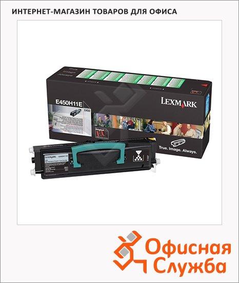 Тонер-картридж Lexmark E450H11E, черный