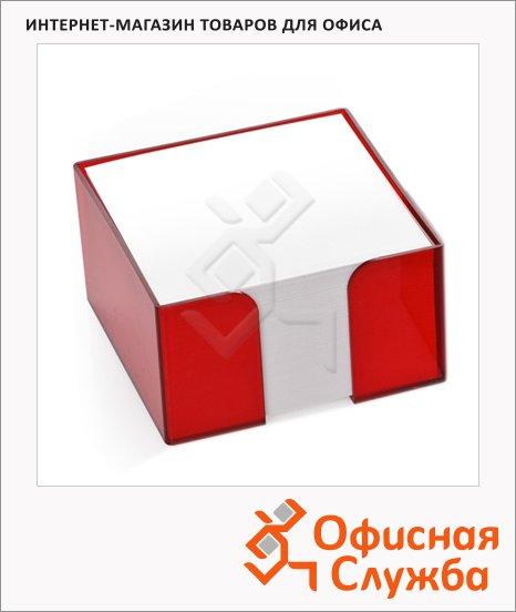 Блок для записей непроклеенный в подставке Стамм, 90х90мм