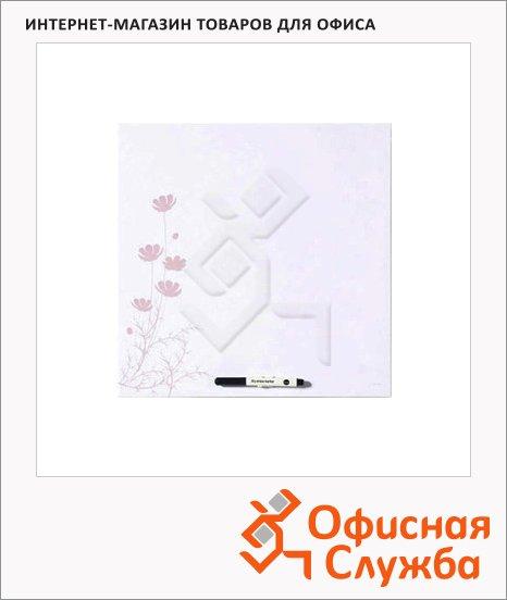 Доска маркерная Bi-Office Pink Flower MB7553397