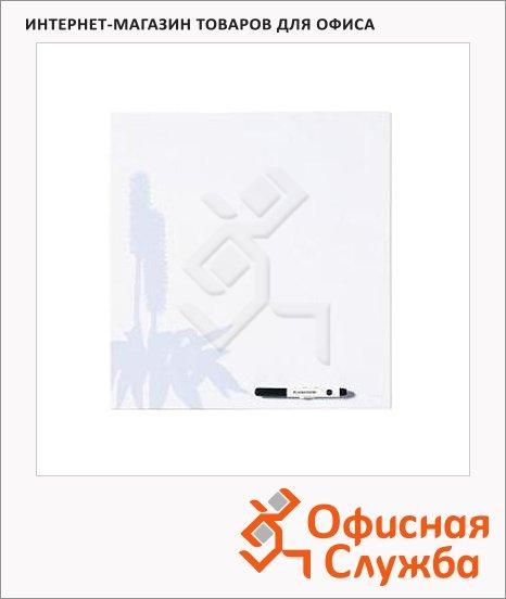 Доска маркерная Bi-Office Blue Flower MB7554397