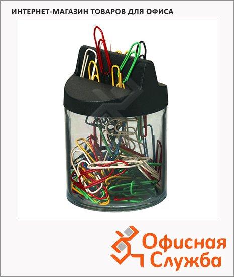 фото: Скрепочница магнитная Durable прозрачная +125 скрепок, 1240-00