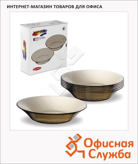 Тарелка суповая Pasabahce Invitation bronze