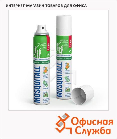 Защитный аэрозоль от комаров Mosquitall