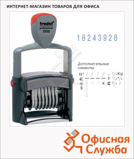 Нумератор с автоматической оснасткой Trodat Professional