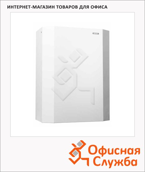 Контейнер для мусора Katrin White Metal 25л, белый, 90078