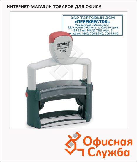 фото: Оснастка для прямоугольной печати Trodat Professional 70х25мм черная, 5205
