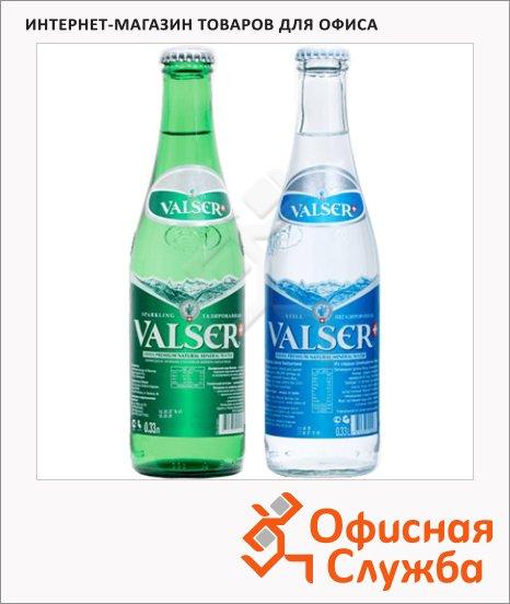 Вода минеральная Valser, 0.33л, стекло