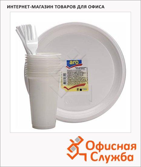 Наборы одноразовой посуды Aro, на 10 персон