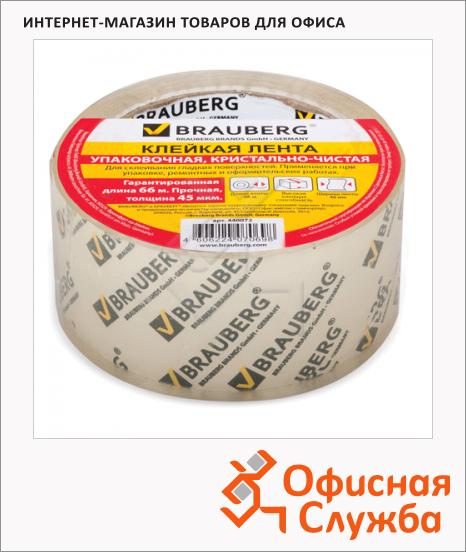Клейкая лента упаковочная Brauberg