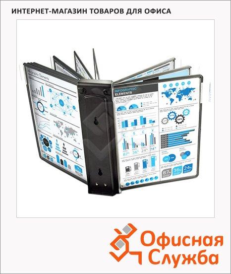 фото: Модуль расширения для демосистемы Proмega Оffice 10 панелей А4, черная, FDS006