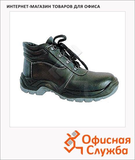 Ботинки утепленные Worker Босс Winter 9262-1, черные