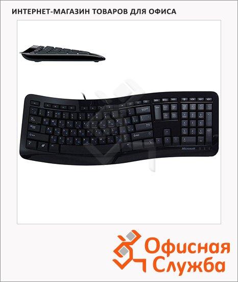 фото: Клавиатура проводная USB Microsoft Comfort Curve 3000 черная