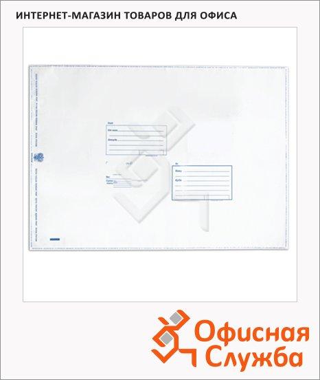 Пакет почтовый полиэтиленовый Suominen белый, 360х500мм, 70мкм, 1шт, стрип, Куда-Кому