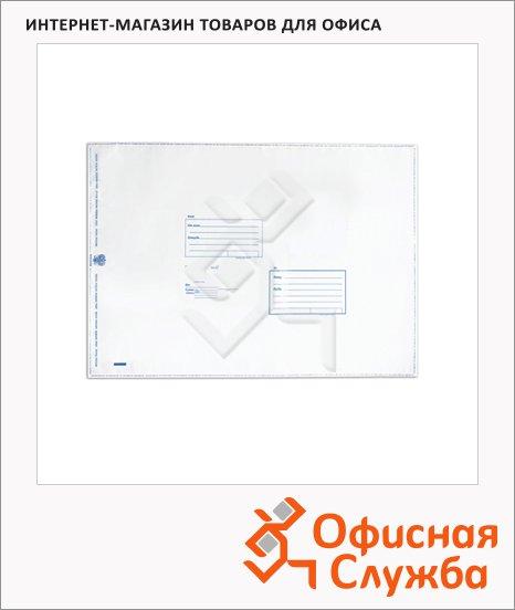 Пакет почтовый полиэтиленовый Suominen C4 белый, 229х324мм, 70мкм, 1шт, стрип, Куда-Кому