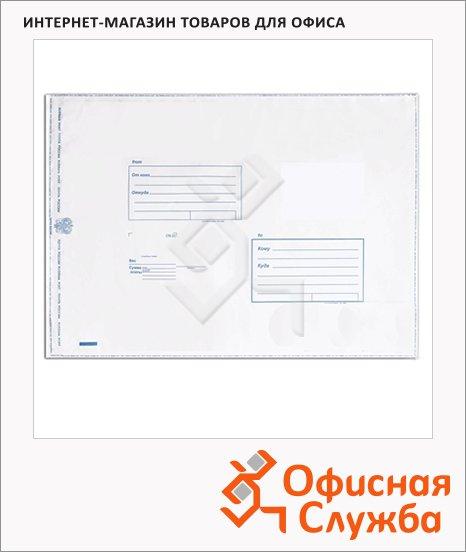 Пакет почтовый полиэтиленовый Suominen белый, 280х380мм, 70мкм, 1шт, стрип, Куда-Кому