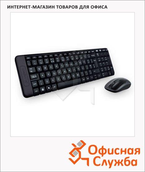 Набор клавиатура и мышь беспроводной Logitech Combo