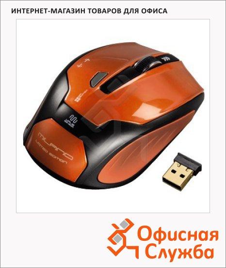 Мышь беспроводная оптическая USB Hama Milano, 800/1600dpi