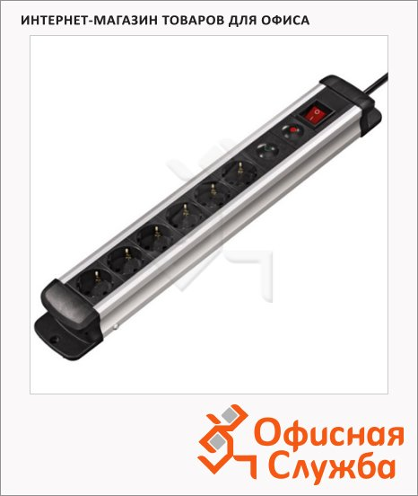 Сетевой фильтр Hama Pro-S 60M
