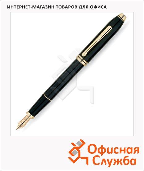 Ручка перьевая Cross Townsend Black Lacquer GT