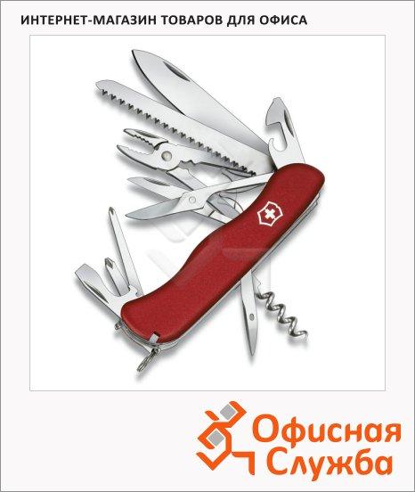 Нож солдатский 111мм Victorinox Hercules, 18 функций, 5 уровней, с фиксатором