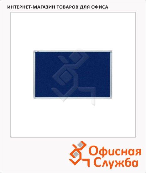 Доска текстильная 2x3 TTA 96BL, синяя, алюминиевая рама
